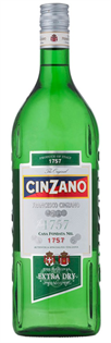 Cinzano Vermouth Extra Dry 1.00l - Case of 12